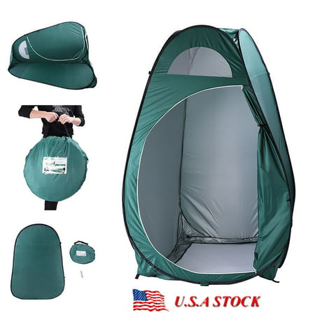 Digital Tent (Folding Portable Outdoor Camp Tent Pop-up Toilet Dressing Fitting Room Large Privacy Shelter Camping Army)