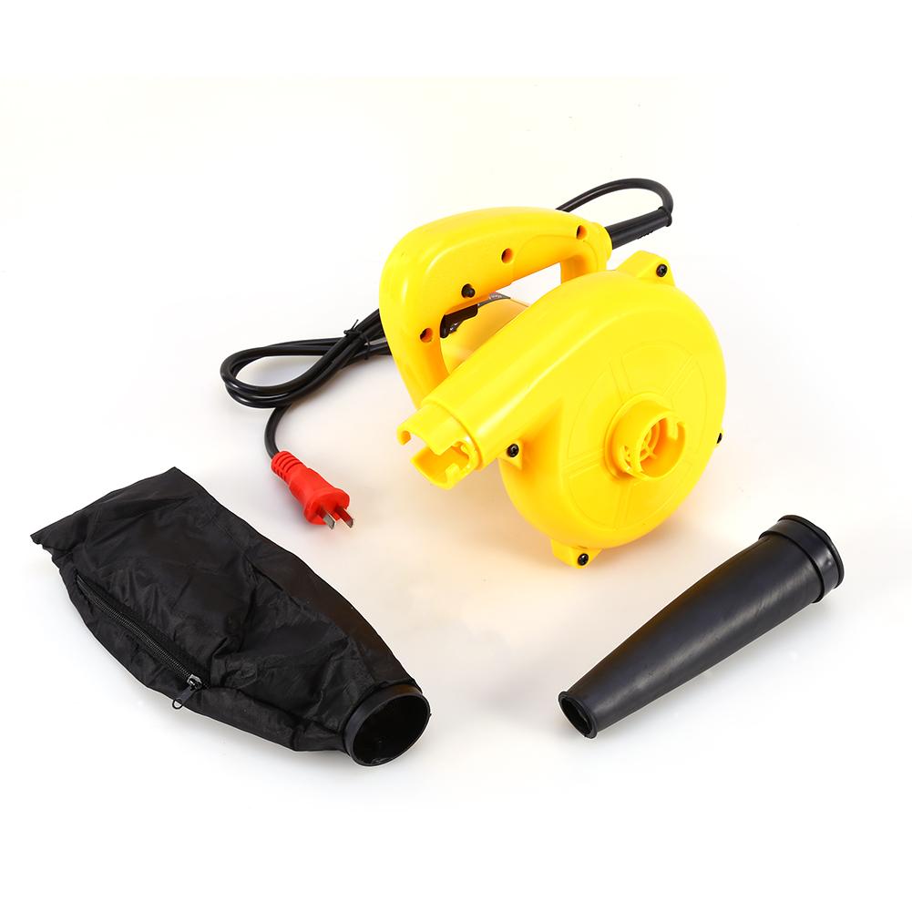 Mini Handheld Electric Blower Dust Leaf Blower Vacuum for Shop Garage Garden Compute Ca House