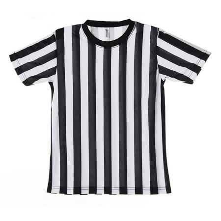 Mato & Hash Children's Referee Shirt Ref Costume Toddlers Kids Teens