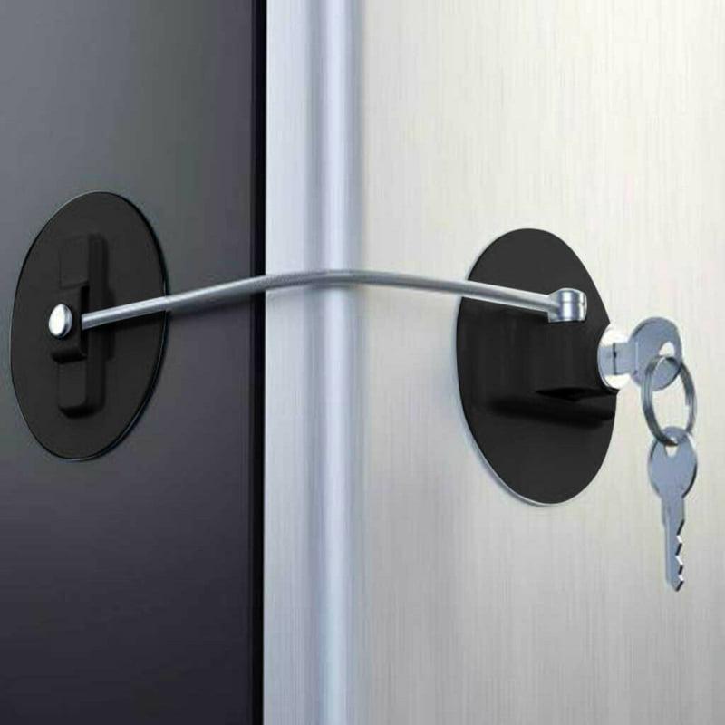 Jeobest Safety Door Lock for Kid Child Safety Lock for Refrigerator Door Child Proof Safety Lock Child Safety... by Jeobest