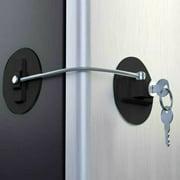 Jeobest Safety Door Lock for Kid - Child Safety Lock for Refrigerator Door - Child Proof Safety Lock - Child Safety Lock Window Refrigerator Safety Door Lock for Child Safety Fridge Door Lock MZ