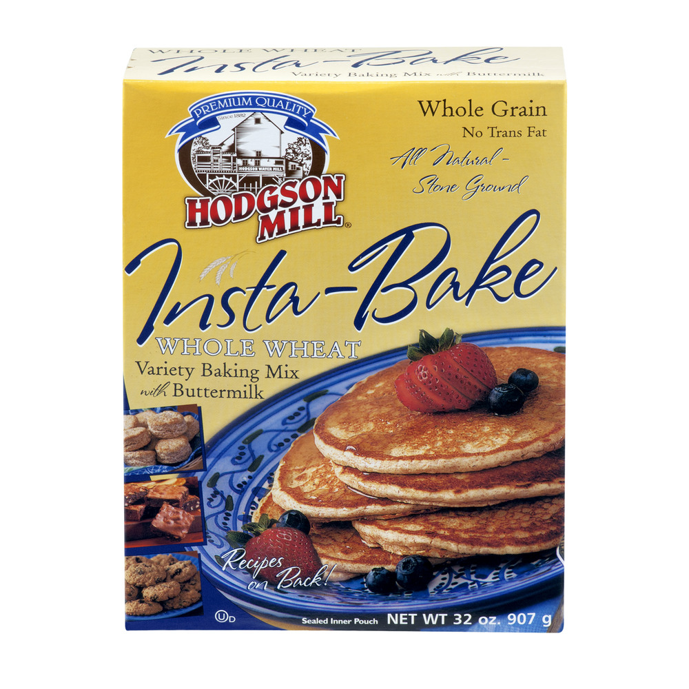 Hodgson Mill Insta-Bake Whole Wheat Baking Mix with Buttermilk, 32.0 OZ