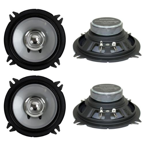 "4)  Kenwood KFC-C1355S 5.25"" 500 Watt 2-Way Car Audio Coaxial Speakers Stereo"