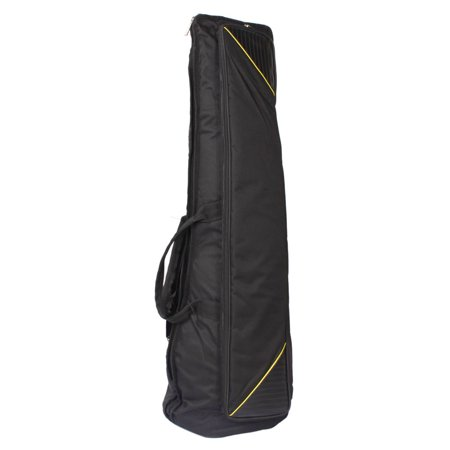 Zimtown Slap-up Fashionable Fabric Tenor Trombone Gig Bag Lightweight Case Black