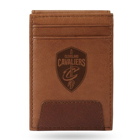 Cleveland Cavaliers Sparo Leather Front Pocket Wallet - No Size