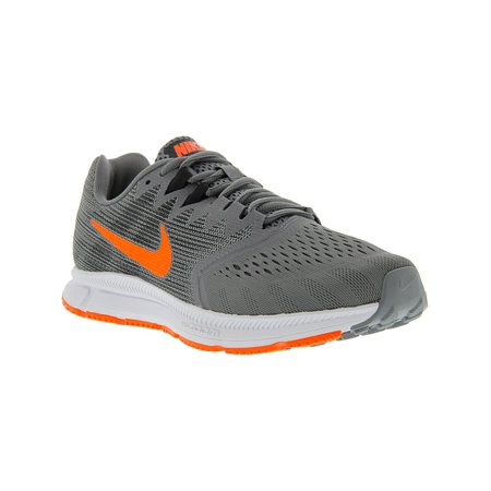 2d818c5a56c Nike - Nike Men s Zoom Span 2 Gunsmoke   Total Crimson - Black Ankle-High  Running Shoe 10M - Walmart.com