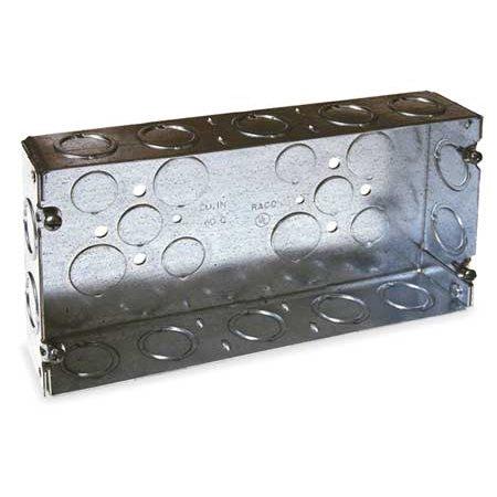 RACO 952 Electrical Box, 60 cu. in., 3 Gang