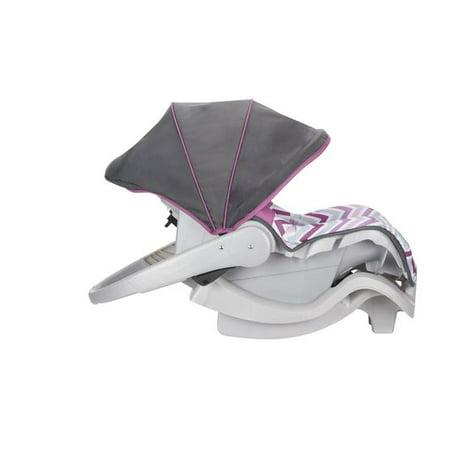 Evenflo Nurture 22 lbs Infant Car Seat, Chevron Purple