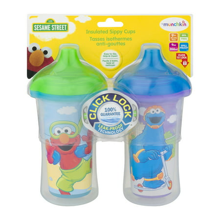 Munchkin Insulated Hard Spout Sippy Cup - Sesame Street
