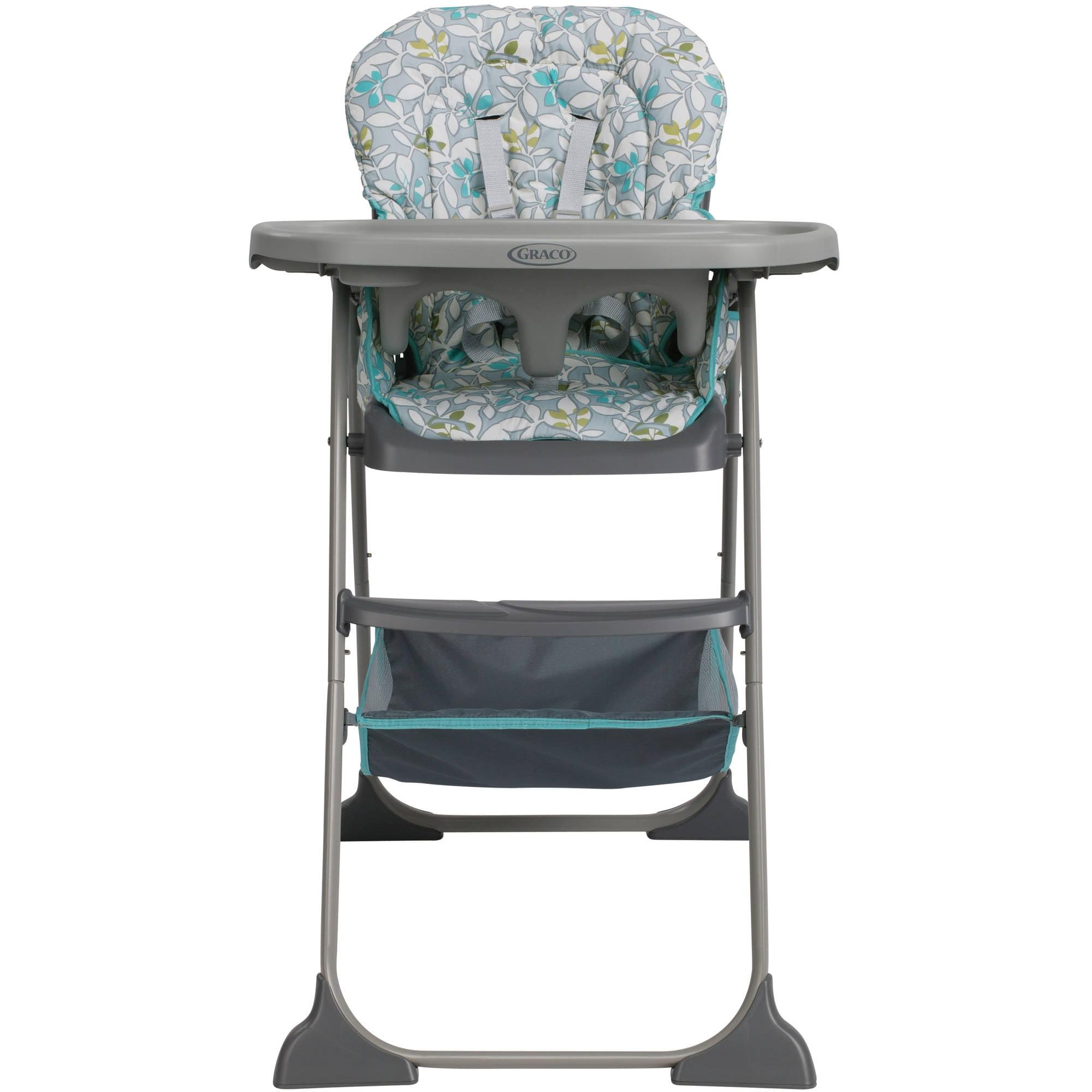Graco Slim Snacker High Chair Harvest Walmart