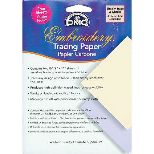 "DMC Embroidery Tracing Paper, 8-1/2"" x 11"", 2pk"