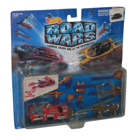 Hot Wheels Road Wars The Extinguisher Battle Launcher Toy Car