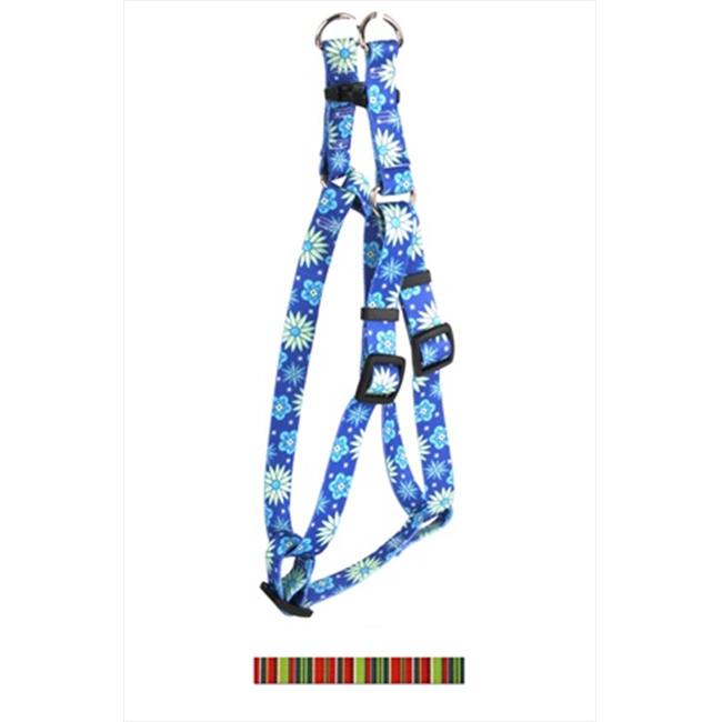 Yellow Dog Design SI-HOLS104XL Holiday Stripes Step-In Harness - Extra Large