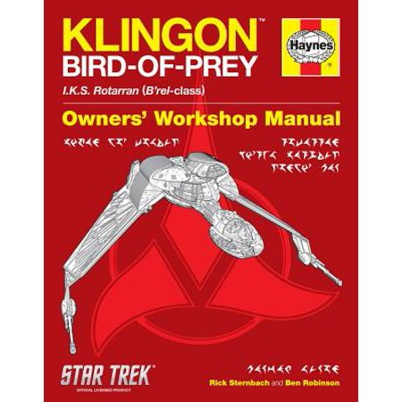 Klingon Bird Of Prey (Klingon Bird-Of-Prey Haynes)