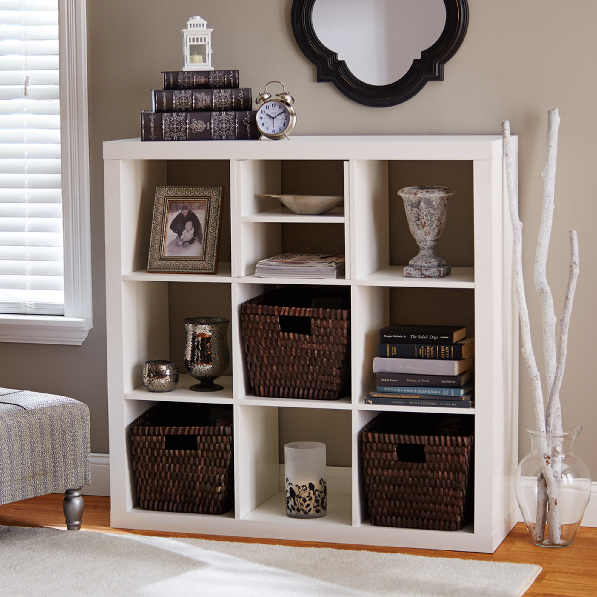 Captivating Better Homes And Gardens Cube Storage Shelf, H, Multiple Colors    Walmart.com