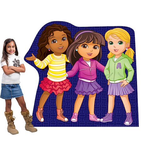 Dora And Friends In The City (4 ft. 8 in. Dora & Friends Group)