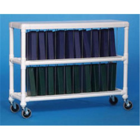 Innovative Products Unlimited NCR20 L NOTEBOOK CHART RACK - HOLDS 20 RING (Notebook Chart Rack)