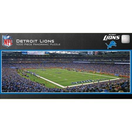 Master Pieces Detroit Lions Panoramic Stadium Puzzle  1 000 Pieces