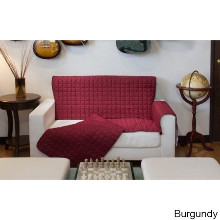 L'COZEE Two Piece Button Design Sofa Furniture Protector