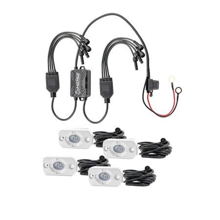 Heise Led Lighting Systems HE-4MLRGBK Heise Rbg Accent Light Kit - 4 Pack ()