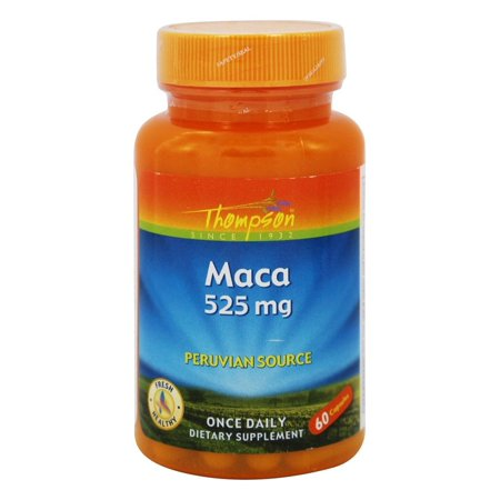 Thompson - Maca Peruvian Source 525 mg. - 60 Capsules 60 Peruvian Finish