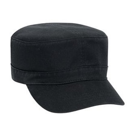 Otto Cap Superior Garment Washed Cotton Twill Military Style Caps - Hat / Cap for Summer, Sports, Picnic, Casual wear and Reunion -