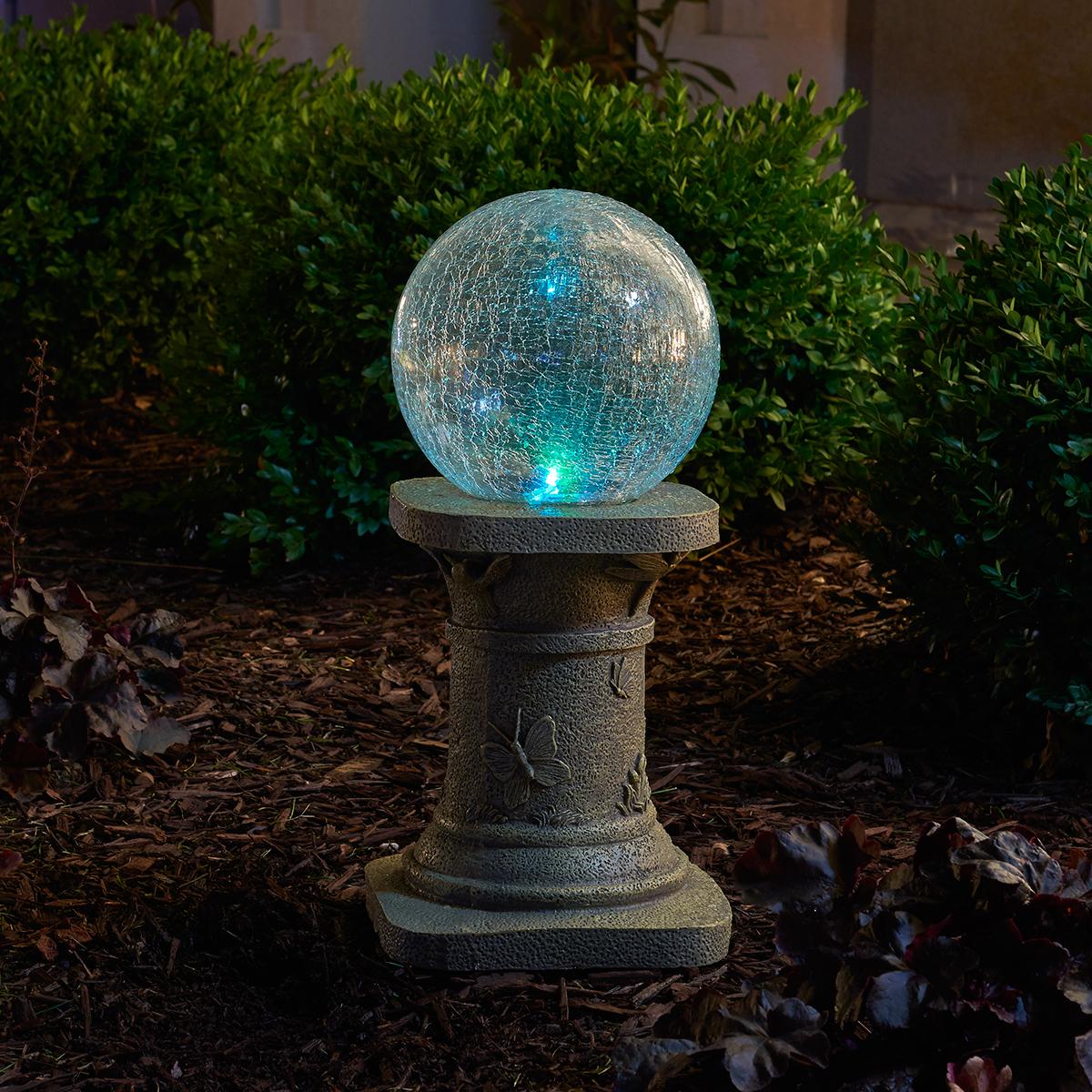 Chameleon Solar Gazing Ball by Smart Living Home & Garden