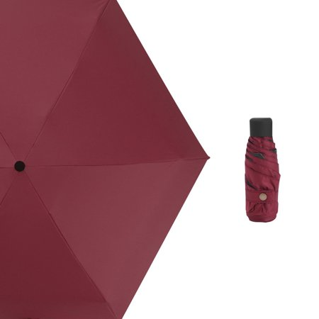 Small Umbrellas (Small Fashion Folding Umbrella Rain Women Gift Men Mini Pocket Parasol Girls Anti-UV Waterproof Portable)