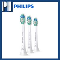 Philips Sonicare Optimal Plaque Control C2 - 3 Replacement Toothbrush Heads HX9023/65 , White
