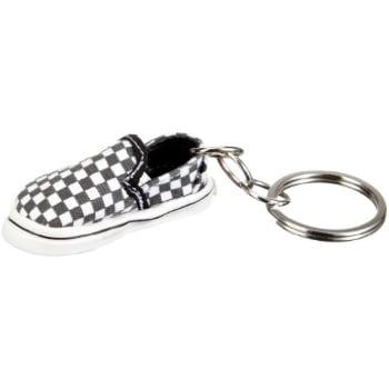 vans slip on keychain blackwhite