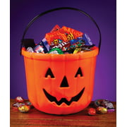 8 pumpkin treat bucket halloween costume accessory - Plastic Pumpkins