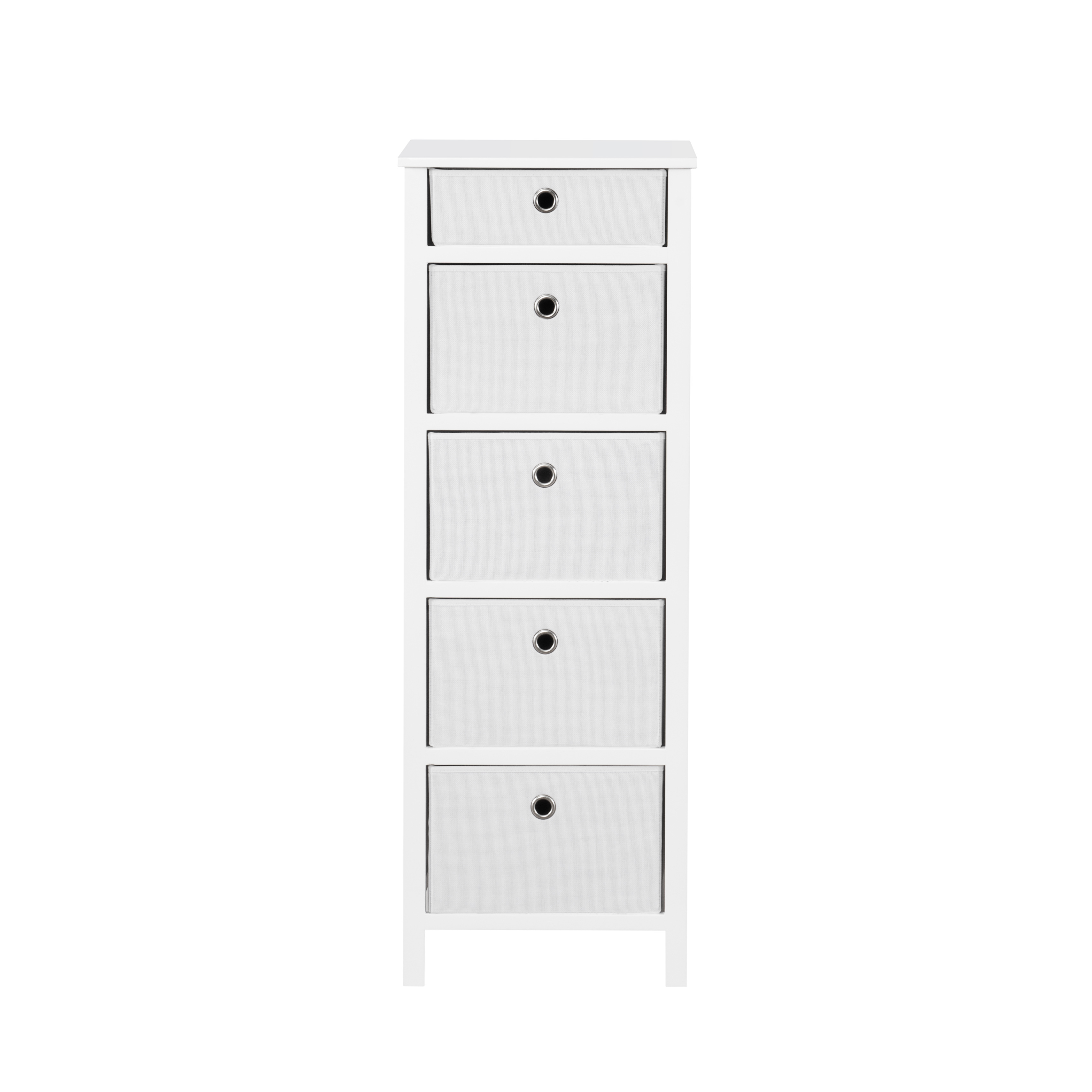 Home Solutions Furniture: Achim Foldable Furniture 5 Drawer Lingerie Chest