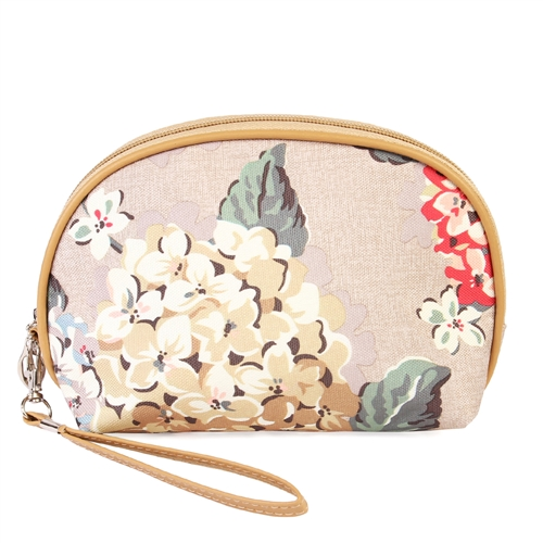 Riah Fashion FLORAL COSMETIC BAG