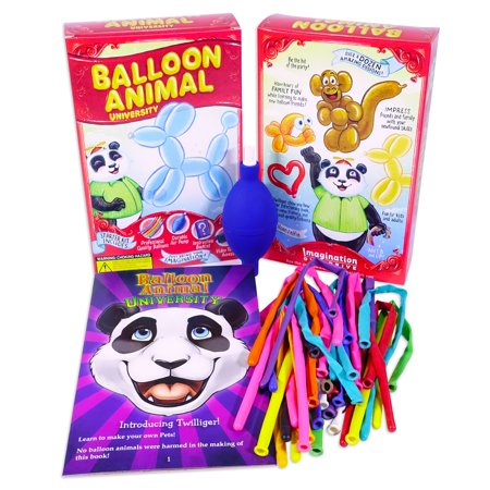 Balloon Animal University Starter Kit. You Can Learn to Make Balloon Animals - Thank You Balloon