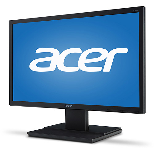 "Acer Essential 20"" LCD Widescreen Monitor (V206HQL Abmd, Black)"