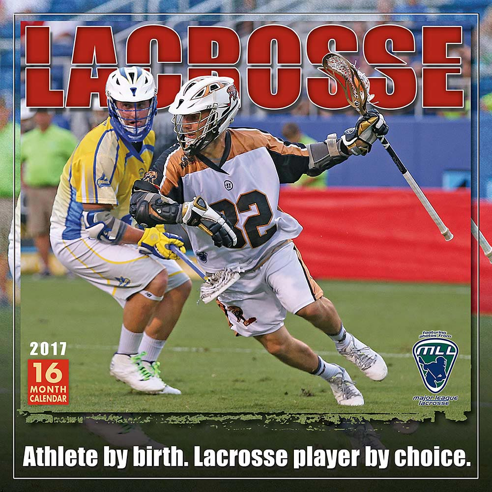 Lacrosse Wall Calendar, 2017 Soccer, Lacrosse & AFL by Sellers Publishing Inc