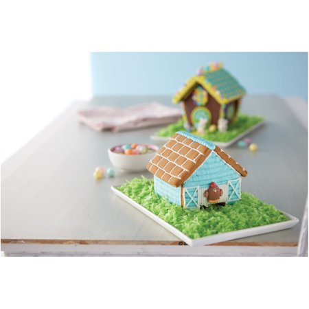 Wilton easter build it yourself chicken coop mini gingerbread house wilton easter build it yourself chicken coop mini gingerbread house kit solutioingenieria Choice Image