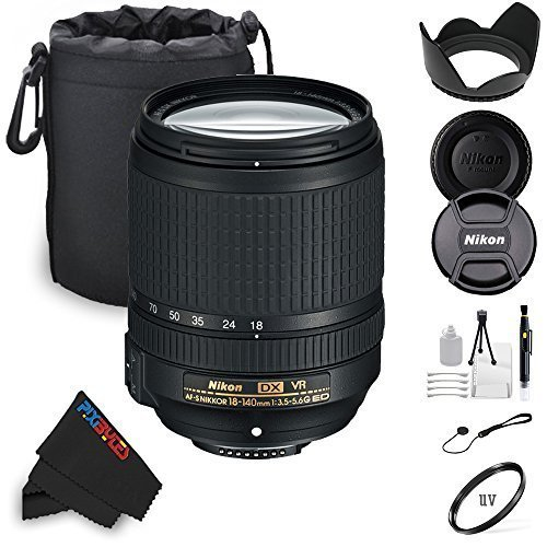 Soft Lens hood Filter Kit Nikon AF-S DX NIKKOR 18-140mm VR More White Box