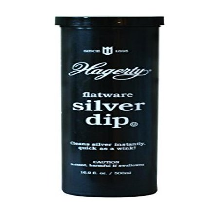 Hagerty 17245 Flatware Silver Dip, 16.9 fl.Oz, (Best Silver Cleaner Dip)