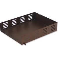 Lorell, Stamped Metal Front Loading Letter Tray, 1 Each, Bronze