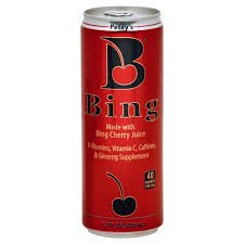 Bing Energy Beverage, Energy Cherry