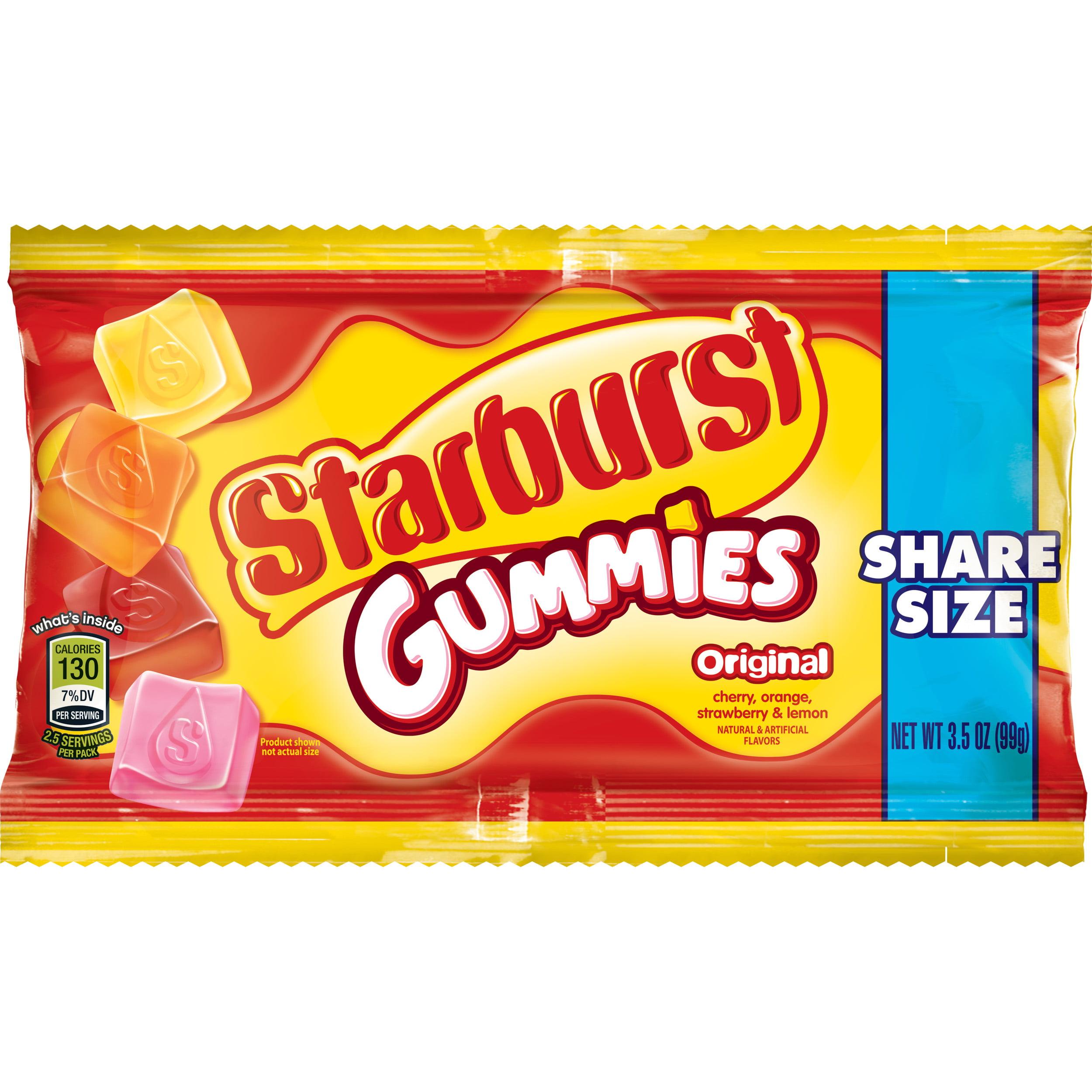 Starburst Gummies Originals Candy, 3.5 ounce