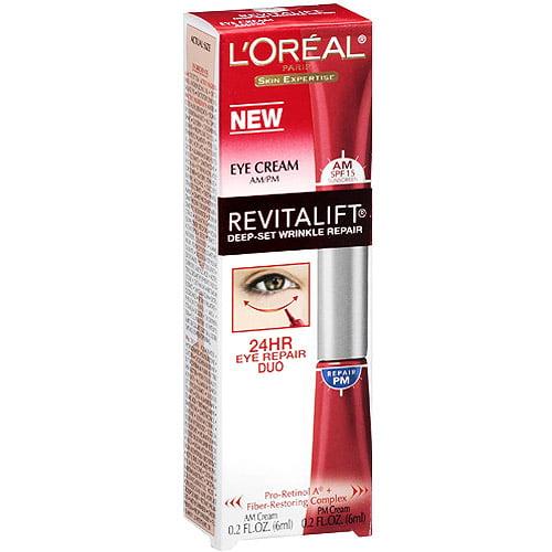 L'Oreal Paris RevitaLift Deep-Set Wrinkle Repair Eye Cream, Eye Cream
