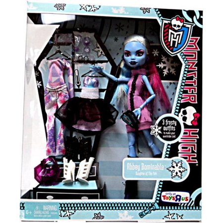 Monster High I Love Fashion Abbey Bominable Doll