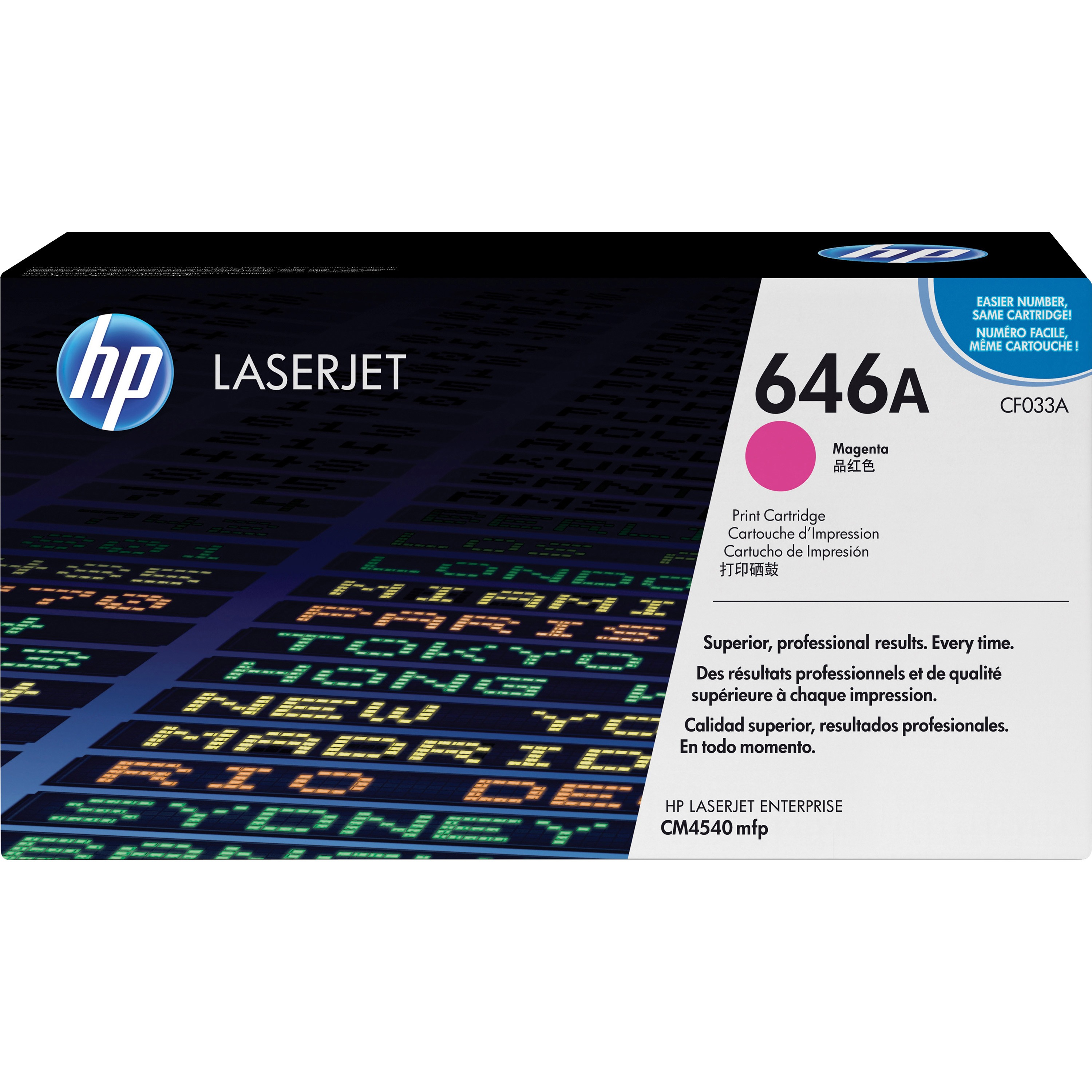 HP 646A (CF033A) Magenta Original LJ Toner Cartridge