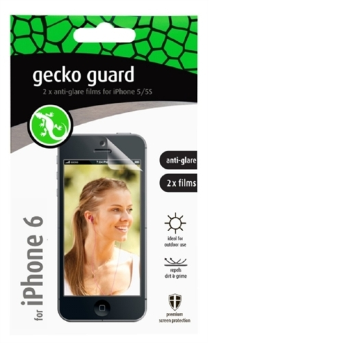 Gecko Gear 4.7in Anti Glare 2 Pack for iPhone 6 GG700213
