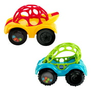 Oball Rattle & Roll Easy-Grasp Push Vehicle Toy, Ages 3 months +