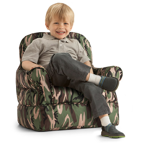 Big Joe Bubs Camo Kids Bean Bag Chair