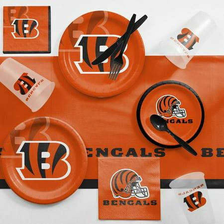 Cincinnati Bengals Party Supplies (Cincinnati Bengals Game Day Party Supplies)