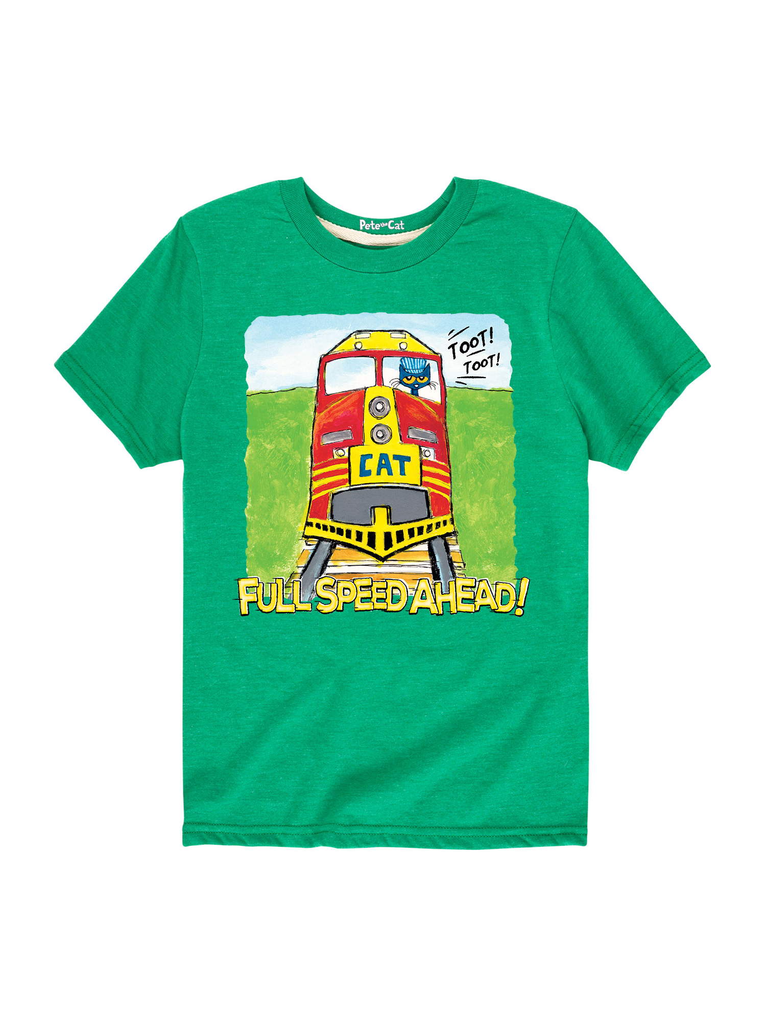 Pete The Cat Full Speed Ahead! Toddler - Toddler Short Sleeve Tee
